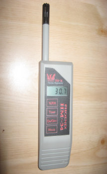 Image Of Thermo Hygrometer