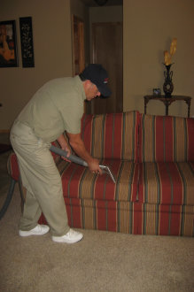 Image of Professional Steam Cleaning Couch